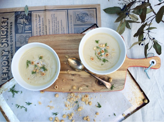 Winter Is Here White Vegetable Soup