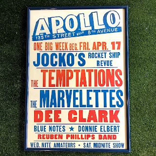 RARE 1964 Apollo Theater Poster