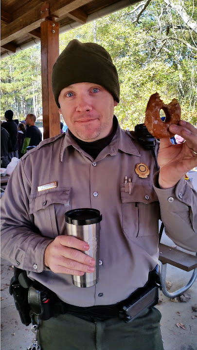 Nothing like coffee and donuts for breakfast to get you going in the morning.