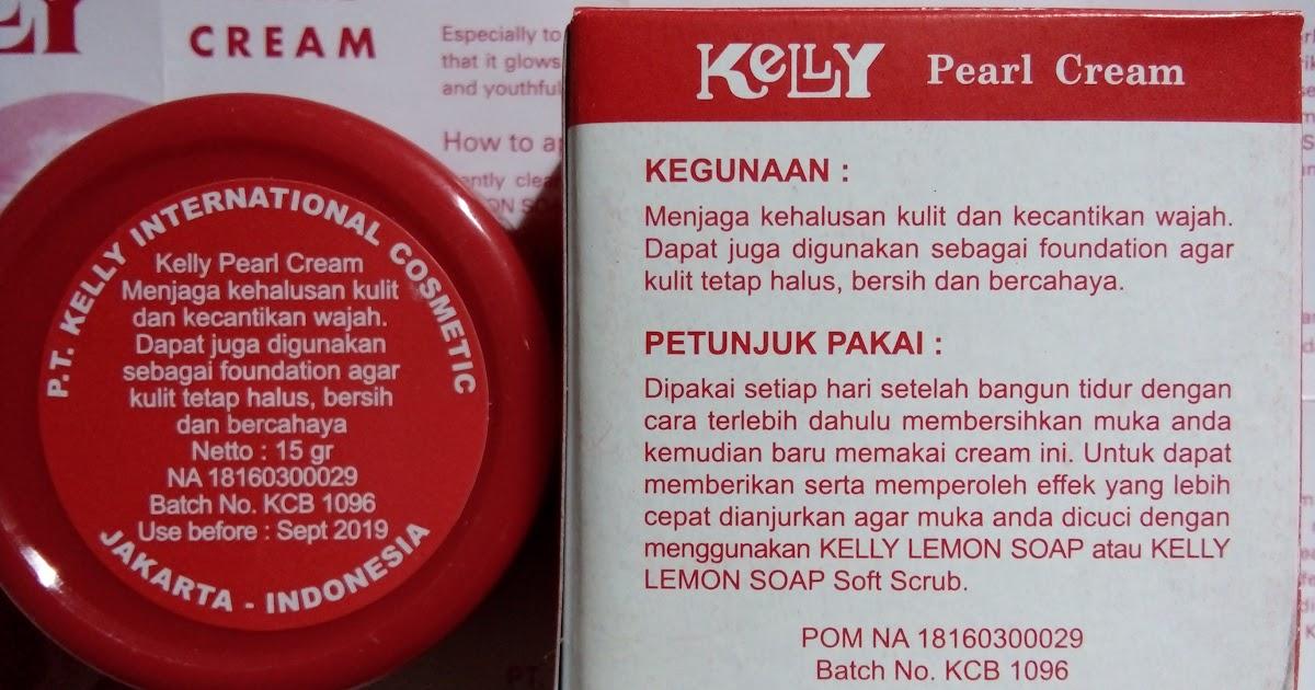 Remaja Kelly Pearl Cream Ampuh Mencerahkan Dan Mengatasi Jerawat