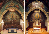 Before and After: Chapel of the Immaculate Conception at Seton Hall