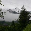 Pogled iz kampa Les Marmottes