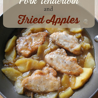Pork Tenderloin and Fried Apples