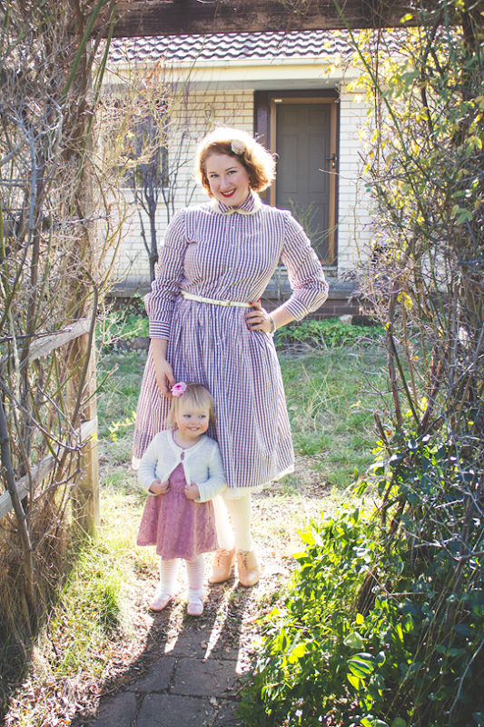 Mother & daughter matching in pink | Lavender & Twill