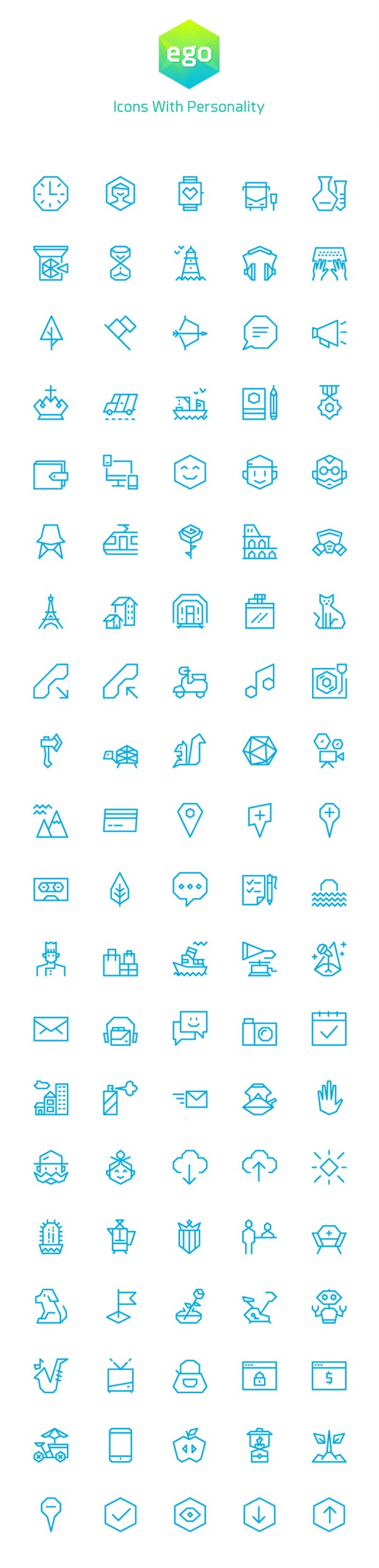 Free Ego Icons – 100 Vector Icons