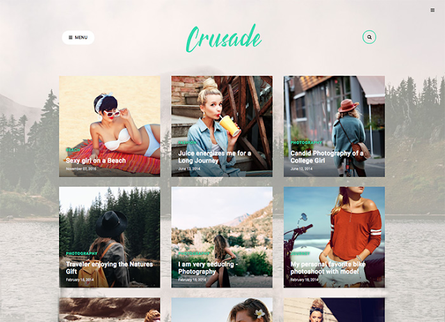 Crusade - latest version-Photography-Premium Blogger template Free Download.