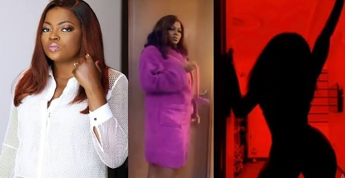 A MUST WATCH: Actress, Funke Akindele joins the Silhouette Challenge.