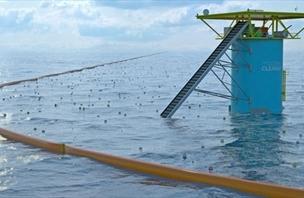 Planta autônoma de extração de ouro da água do mar