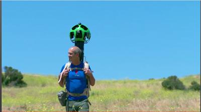 Google Street View Rucksack