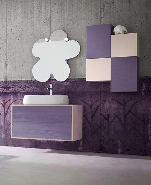 signorini arredamenti mobili per arredo bagno su misura in ... - Arredo Bagno Lilla
