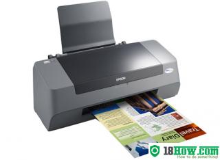 How to Reset Epson C79 laser printer – Reset flashing lights error