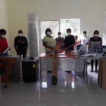 Alcaldesa entrega Centro comunal equipado a comunitarios de las auyamas
