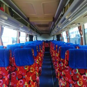 Interior Sewa Bus Solo Seat 60