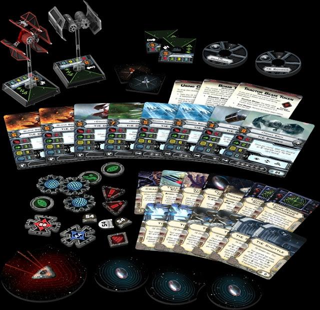 Contenido de losVeteranos Imperiales X-Wing