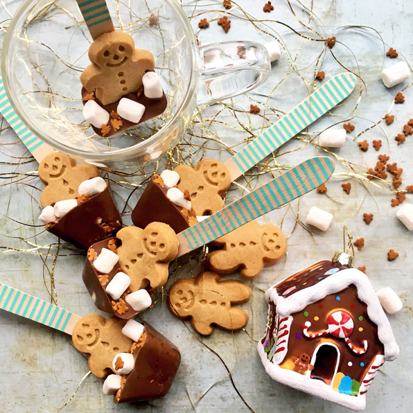 how to make hot chocolate stirrers
