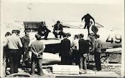 """Аэродром ХАИ. Практическая работа """"МиГ 19"""". 1970 г."""