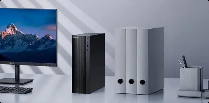 Huawei MateStation B515 คอมพิวเตอร์ตั้งโต๊ะเครื่องแรกจาก Huawei พร้อมขุมพลัง AMD Ryzen 4000