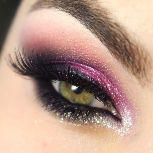 Maquiagem rosa quartzo