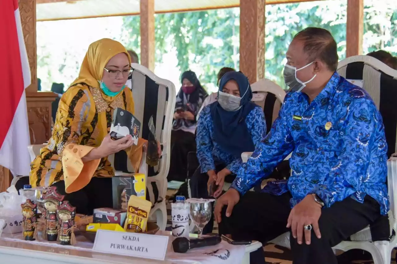 3 Kali berturut-turut, Penghargaan Natamukti diraih Kabupaten Purwakarta