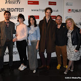 OIC - ENTSIMAGES.COM - Cian Barry, Fiona O'Shaughnessy, Abigail Hardingham, Ben Blaine, Chris Blaine and Cassandra Sigsgaard at the Film4 Frightfest on Monday   of  Nina Forever  UK Film Premiere at the Vue West End in London on the 31st  August 2015. Photo Mobis Photos/OIC 0203 174 1069