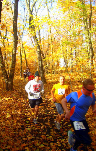 Front group in the Pumpkin Run
