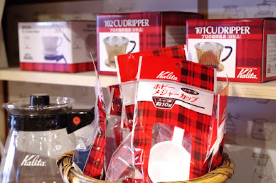 BanCa野田店(岡山市北区野田):コーヒー器具いろいろ1
