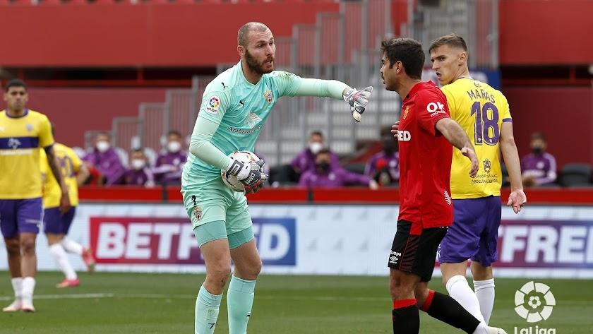 El georgiano volvió a la portería tras ser suplente en el partido de Leganés.