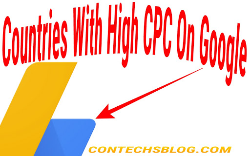 Countries with the highest cpc on Google Adsense