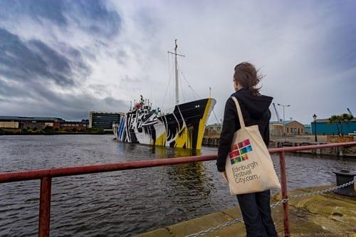 Dazzle Ship Leith