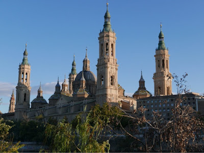 The Basilica of the Virgen del Pilar, Spain's national saint