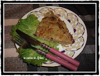 Galette croustillante de pommes de terre, céleri et St albray - recette indexée dans les Fromages
