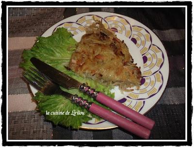 Galette croustillante de pommes de terre, céleri et St albray