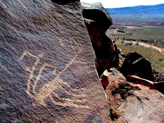 Anasazi Ridge petroglyphs
