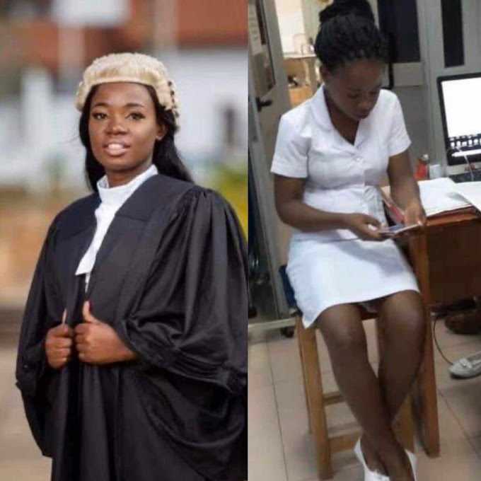 Meet a Ghanaian Lawyer who doubles as an advocate by day and nurse by night