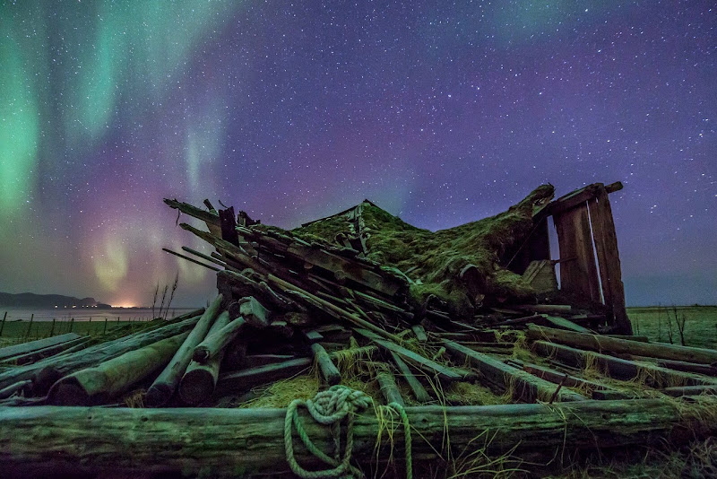 Arctic light: Aurora Borealis at Vesterålen, northern Norway. Photographer Benny Høynes