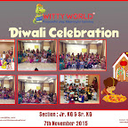 Diwali celebration at Witty World