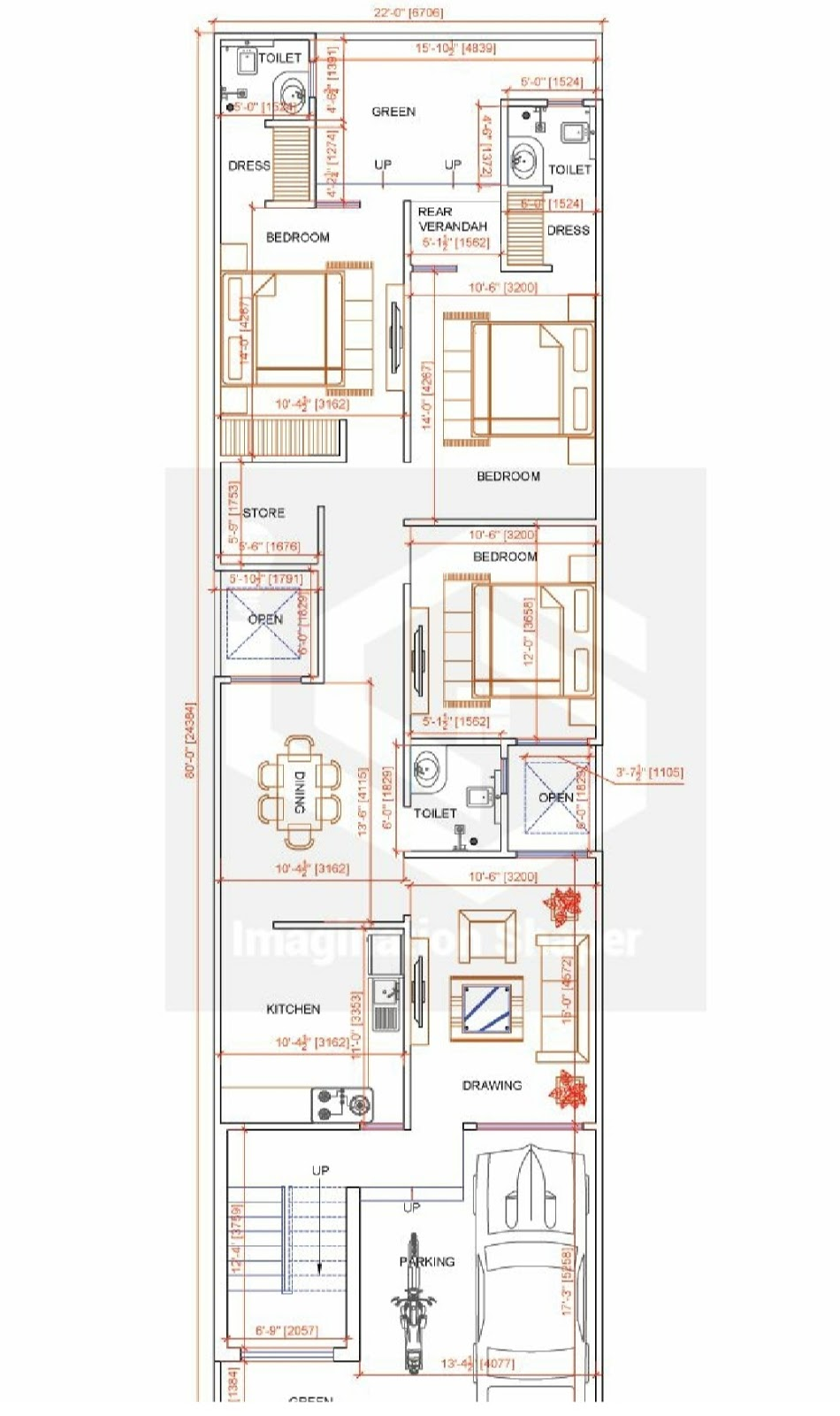 Small house plan, which is best choice of small house map and small house map design with small house elevation design