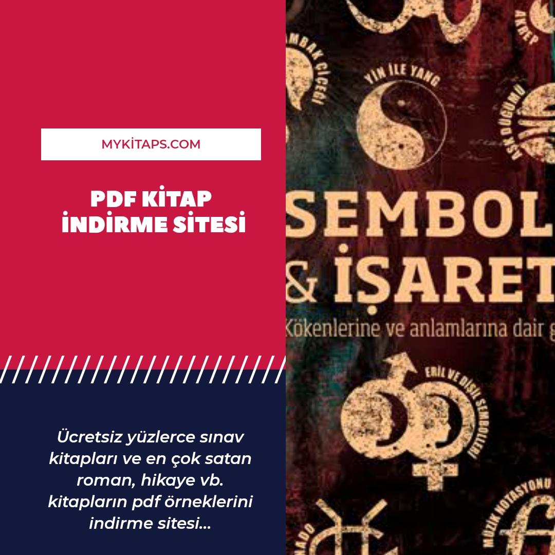 Alfa Yayınları Semboller ve işaratler PDF İndir