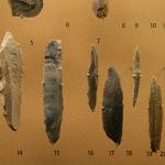 Musée d'archéologie nationale, Paléolithique : silex