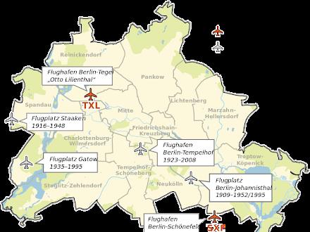 Aeropuertos de Berlín