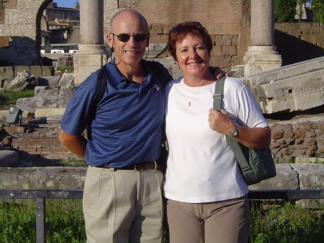 Our traveling partners, Deb and Gary