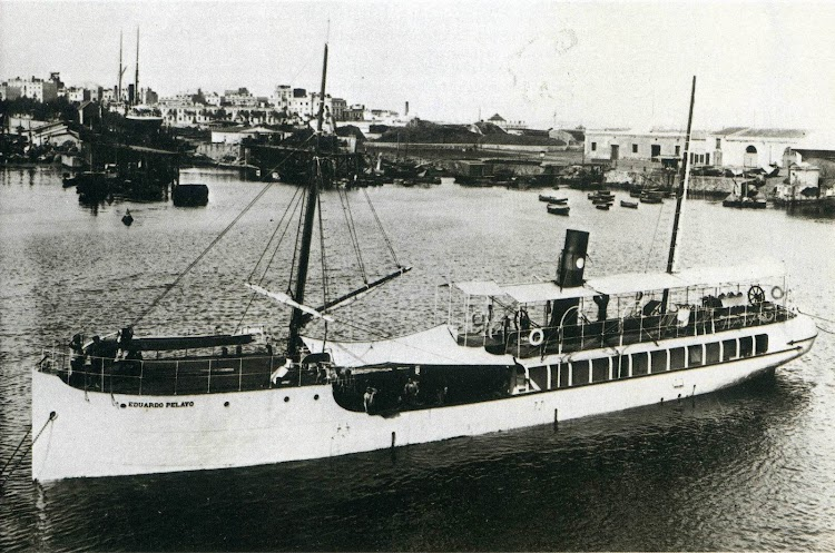 El vapor EDUARDO PELAYO. Foto del libro La Compañia General de Tabacos de Filipinas. 1881-1981.jpg