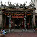 mazu temple in Kaohsiung, Kao-hsiung city, Taiwan