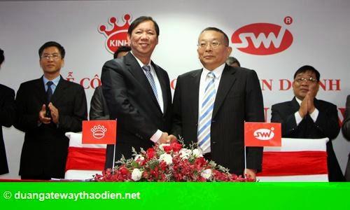 Hình 1: Kinh Đô liên doanh với Saigon Ve Wong xây nhà máy 30 triệu USD
