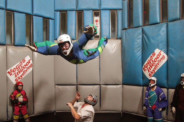 Indoor Skydiving Las Vegas Bucket List.