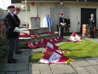 March 11th - Ferndown Pedestal commemoration