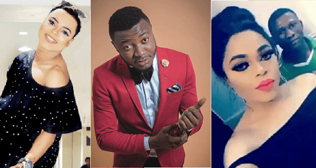 Bobrisky Comes For Mc Galaxy For Breaking Him And Jacob Apart, Shares Screenshots Of Their Chats (Photos)