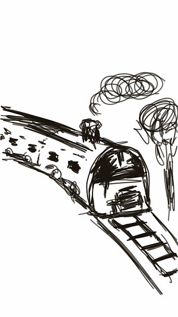 Les histoires d'amour sont comme des voyages en train