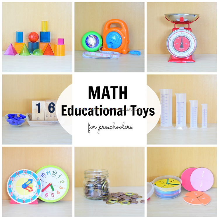 Guide to Math Homeschool Materials for Preschoolers