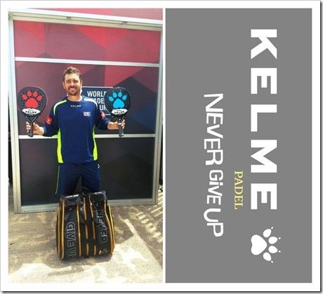 ¿Quieres ganar la equipación de Jordi Muñoz Baixas? Kelme te propone un concurso.